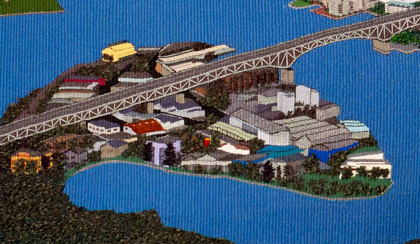 Vancouver - bridge (detail)