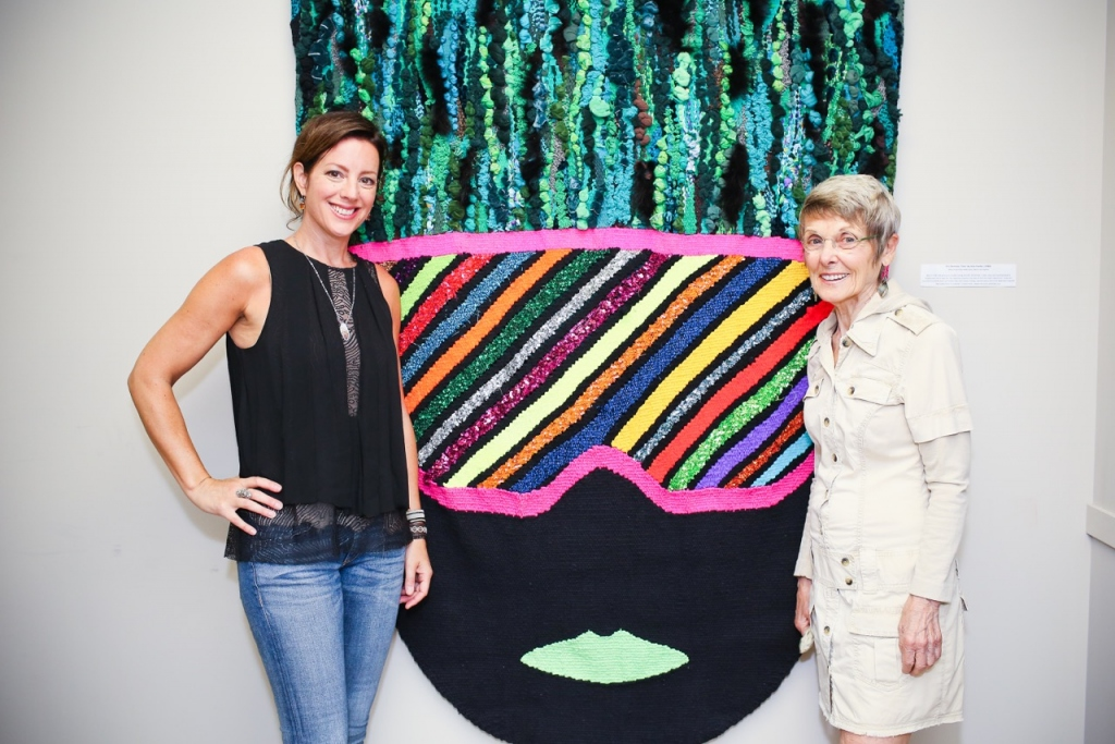 Sola Fiedler and Sarah McLachlan